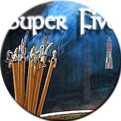 Super 5 Gift Pack of 5 ten-each incense sticks